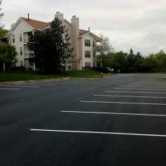 commercial parking lots