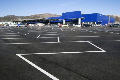 parking lot striping Northern Viriginia