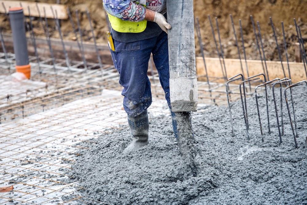 concrete construction Arlington