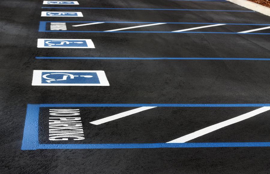Parking Lot Striping Arlington Service