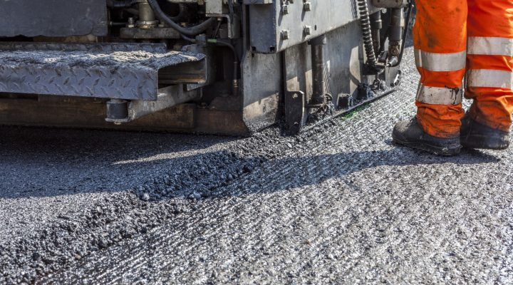 asphalt milling