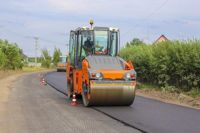 Asphalt Paving Company in McLean, VA Paving a New Road