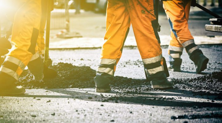 property managers pavement maintenance