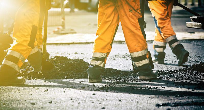 property managers pavement maintenance