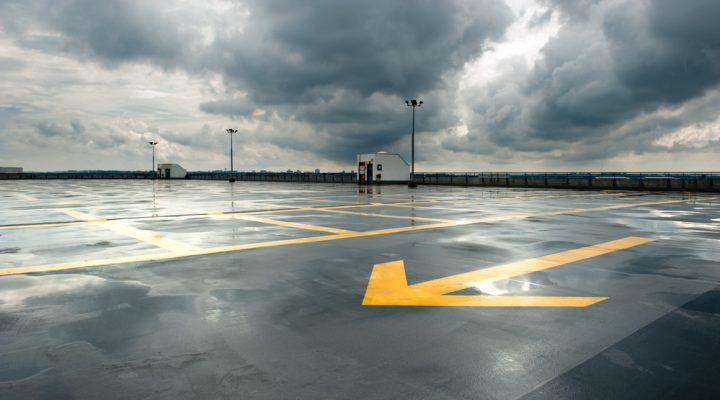your parking lot